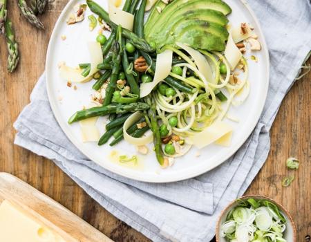 Piatto di verdure con Emmental Bio Portion Entremont