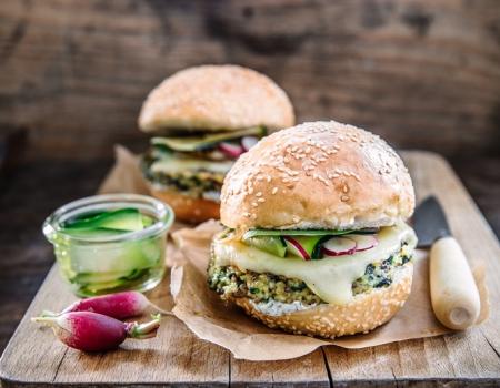 Hamburger vegetale all'Emmental Entremont